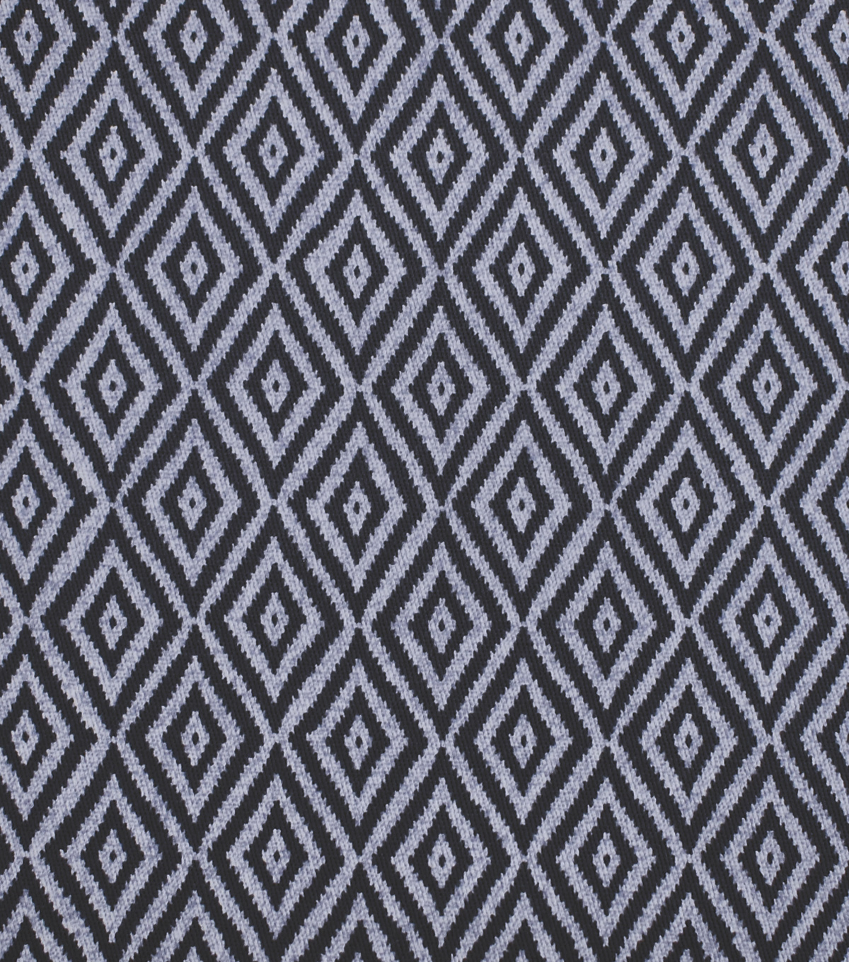 Sportswear Apparel Stretch Twill Fabric 57\u0027\u0027-Navy Geometric Diamond