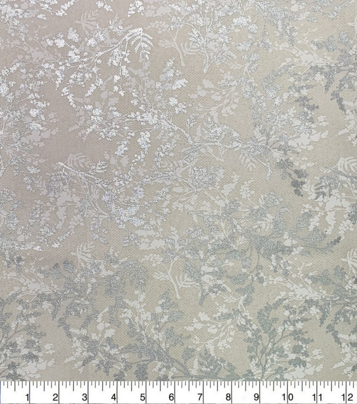 Keepsake Calico Cotton Fabric-Metallic Branches Cream