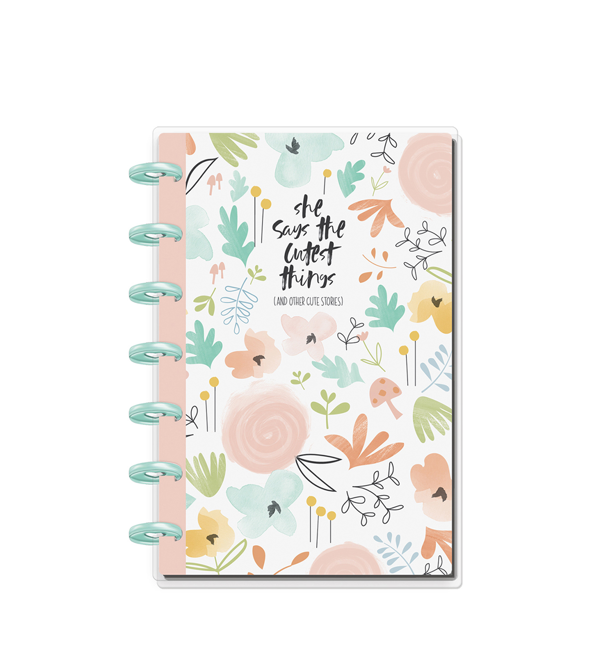 The Happy Planner Happy Notes 80-sheet Mini Notebook-Baby Girl
