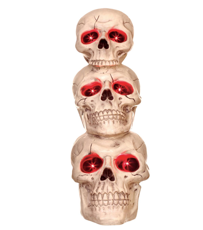 The Boneyard Stacked Skulls Bones Joann