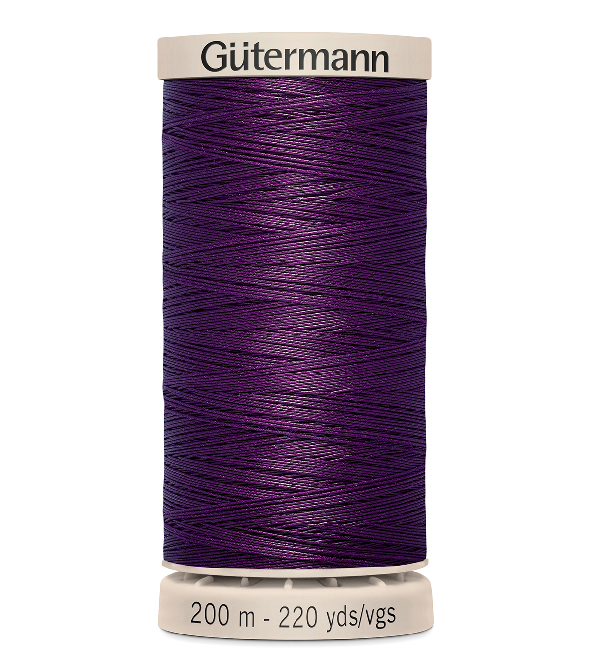Gutermann Hand Quilting Thread 200 Meters (220 Yrds)-Primary, Grape #3832
