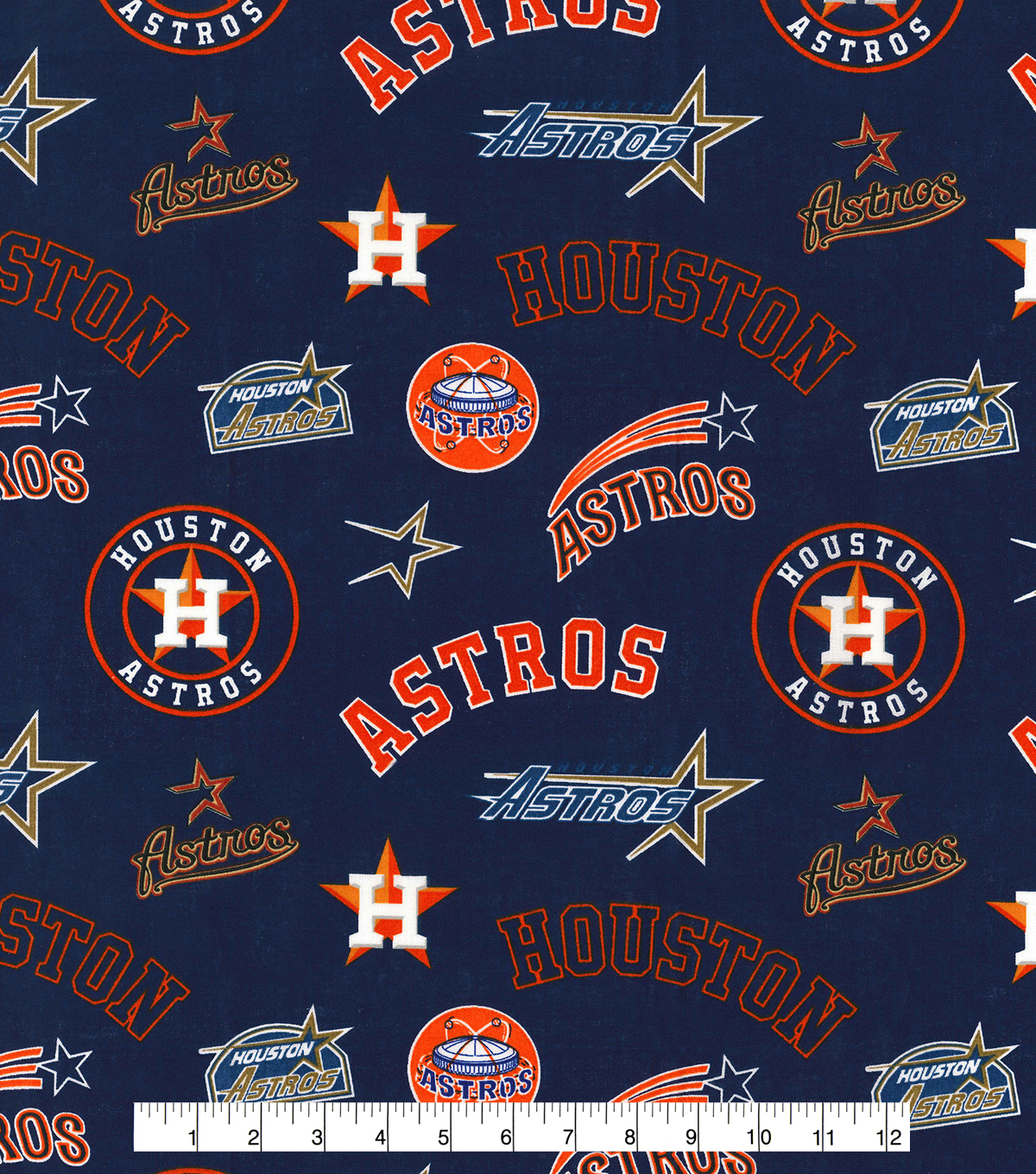 Cooperstown Houston Astros Cotton Fabric