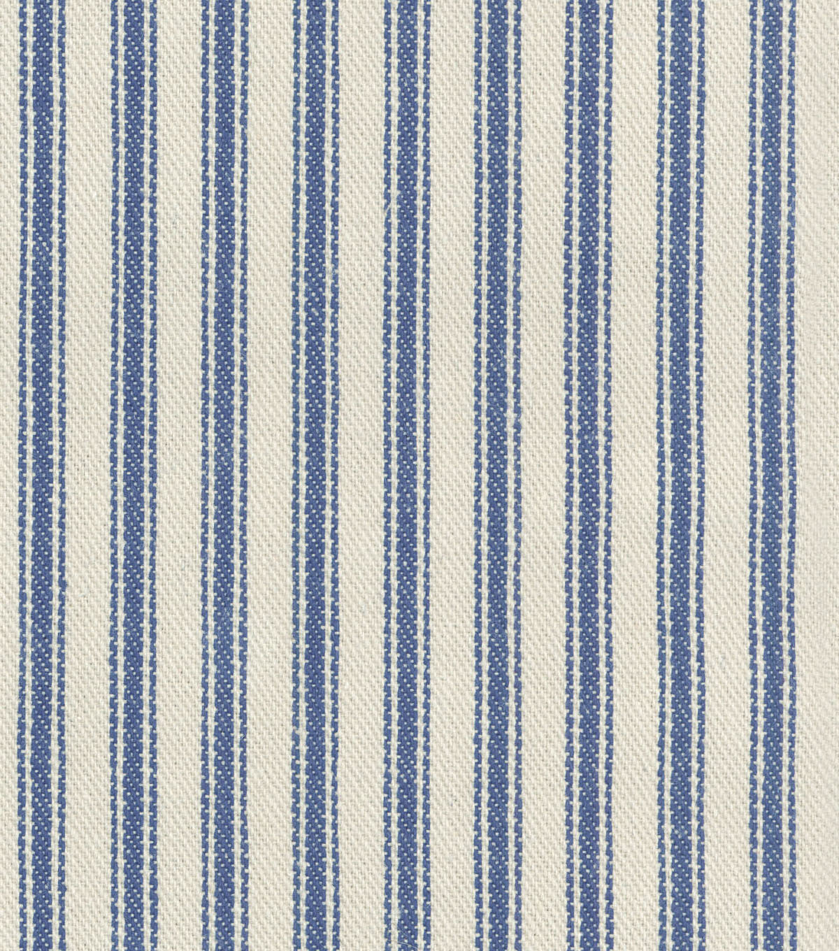 Waverly Multi-Purpose Decor Fabric 55\u0022-Classic Ticking Vintage Ink