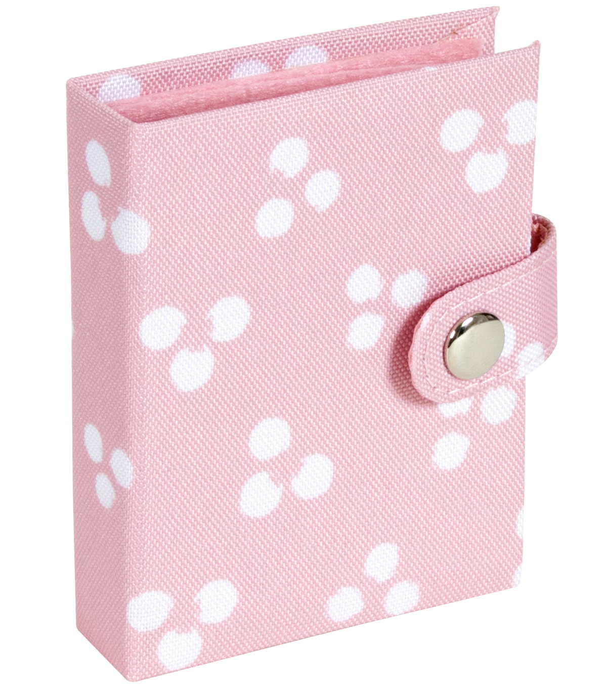 Everything Mary Needle Binder-Polka Dots On Light Pink
