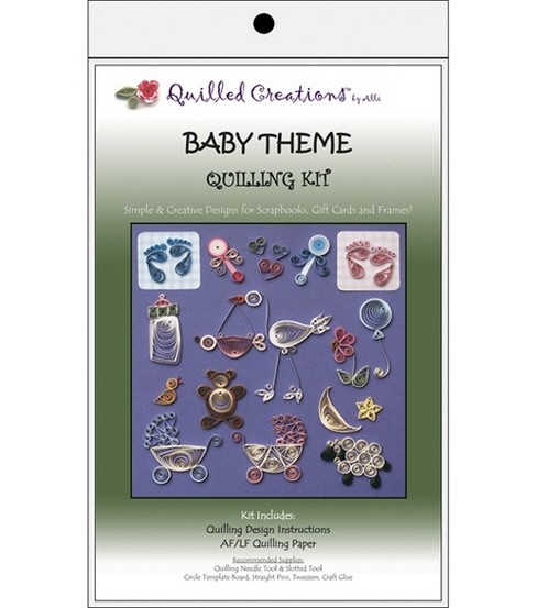 Quilled Creations Quilling Kits-Baby Theme