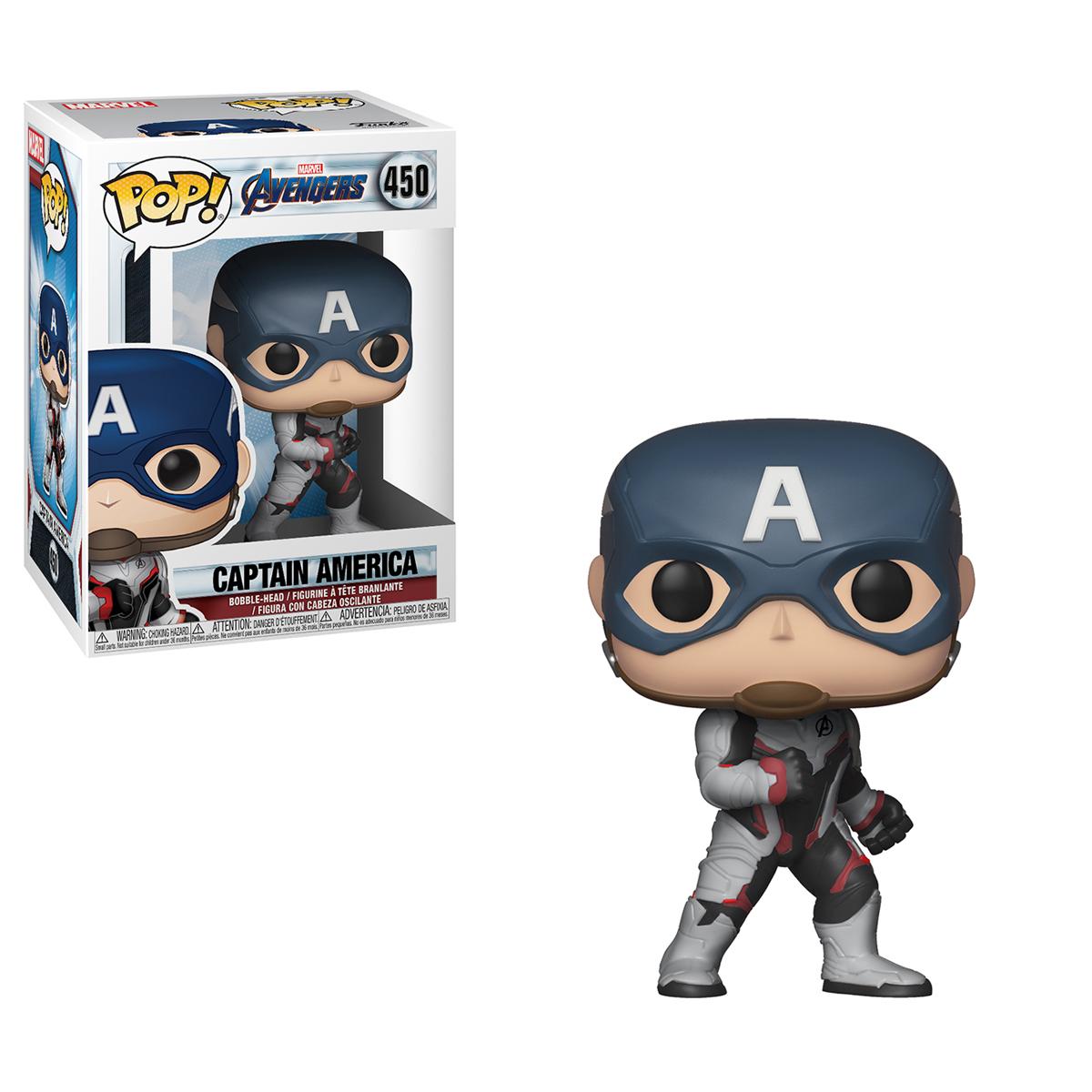 Pop Marvel Infinity War 2 Captain Americ