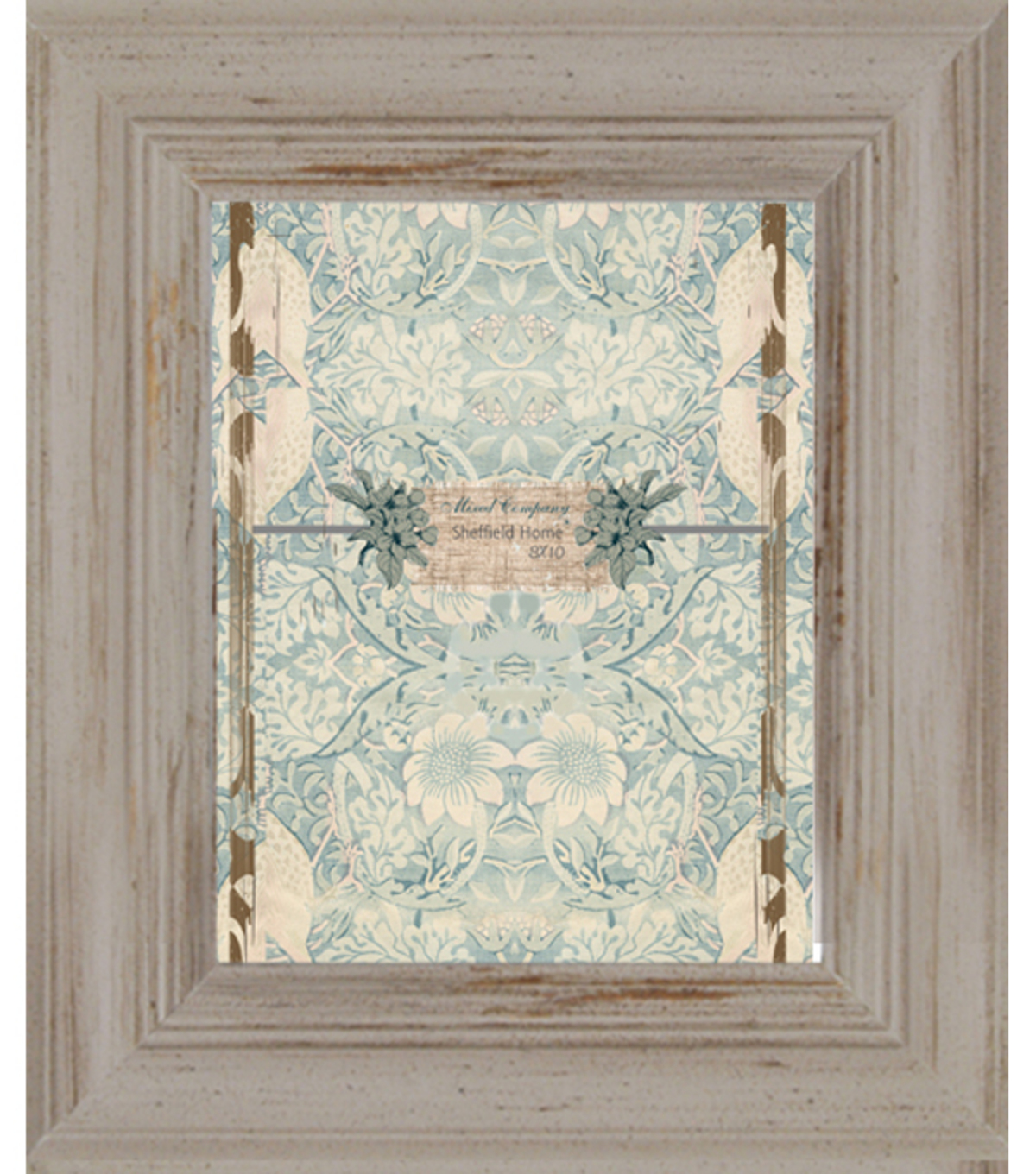Mixed Company 8x10 Frame-Distressed Taupe