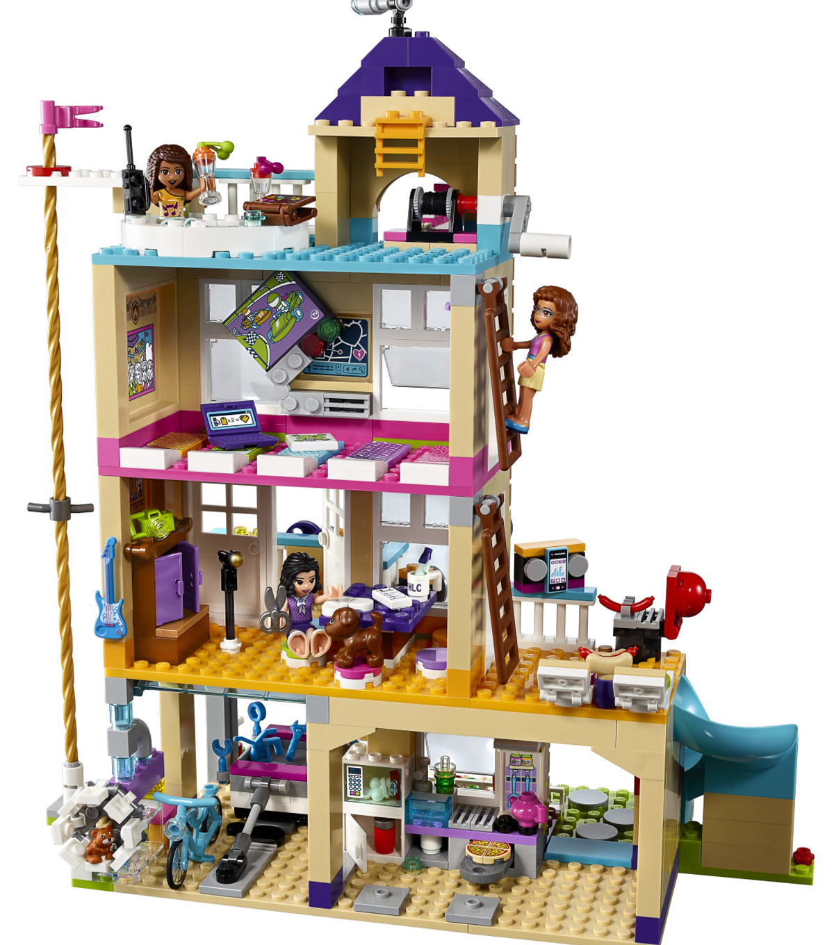 Lego Friends 41340 Friendship House instruction manual BOOKS ONLY new