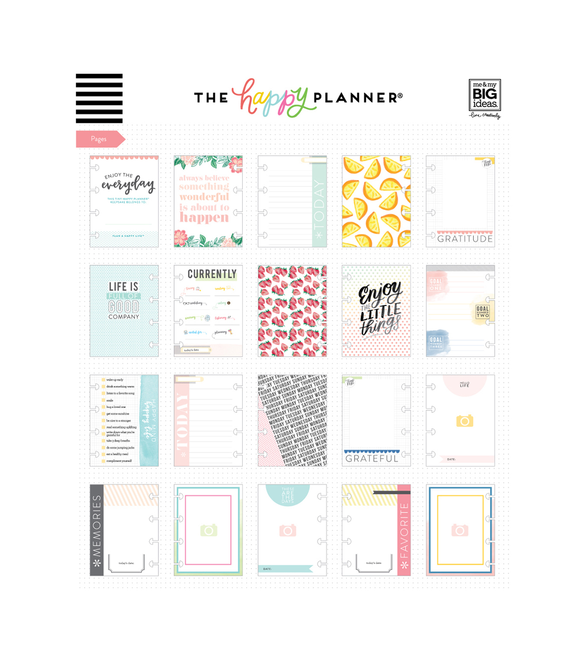 The Happy Planner Mini Everyday Keepsake Planner-Empowered Woman
