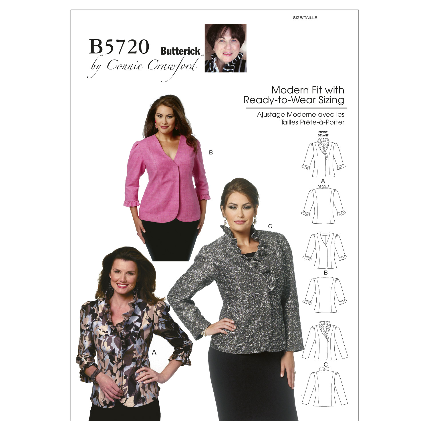 Mccall Pattern B5720 Miss (Xsm--Butterick Pattern