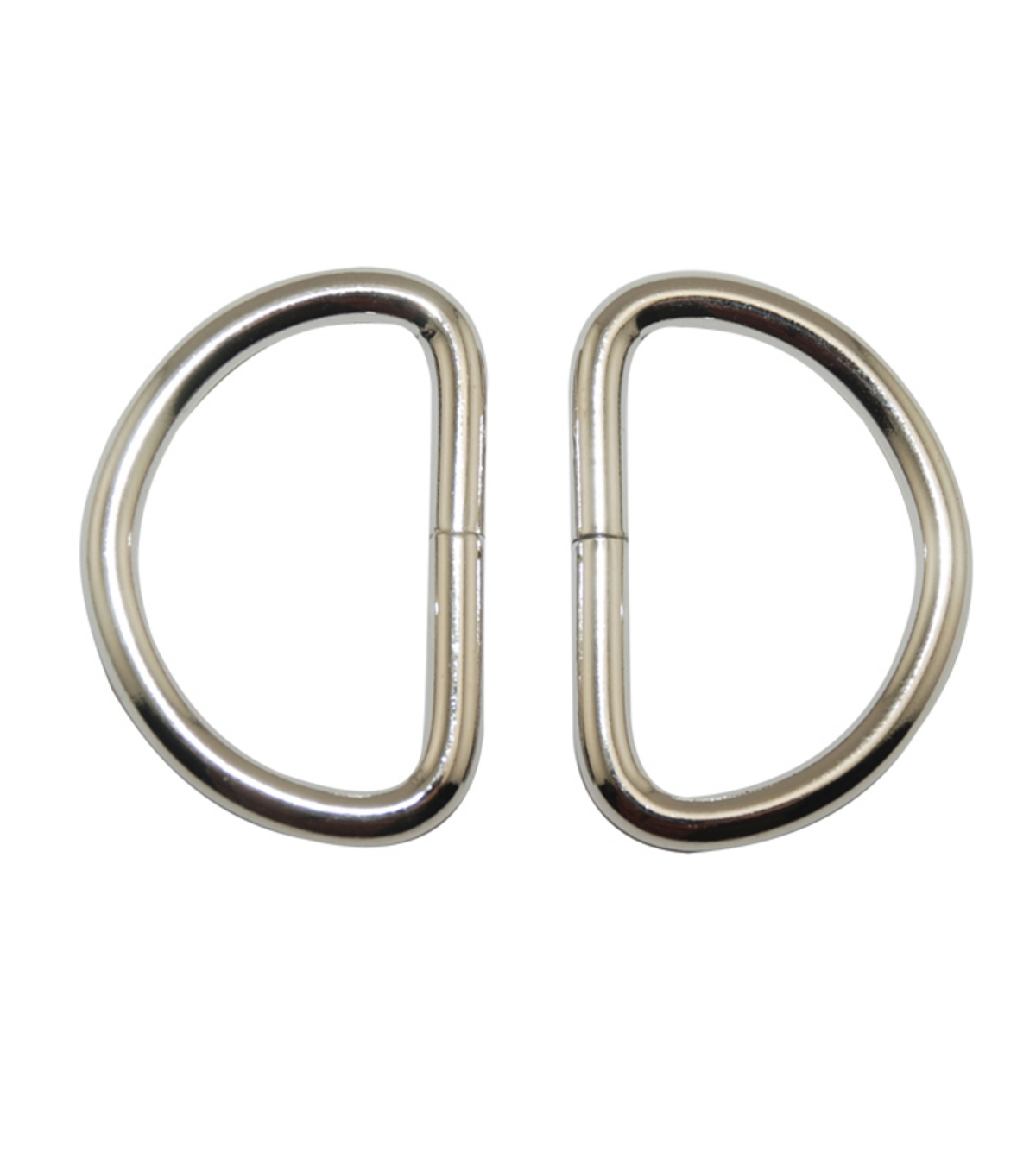 Everything Mary Silver 1.5\u0022 D-Rings-2pk