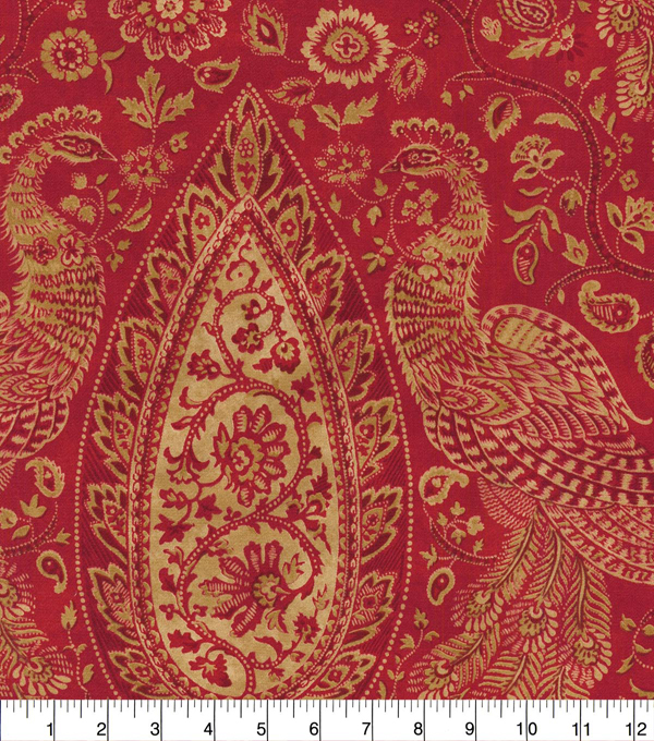 Waverly Upholstery Fabric 54\u0027\u0027-Masala Jewel Tower