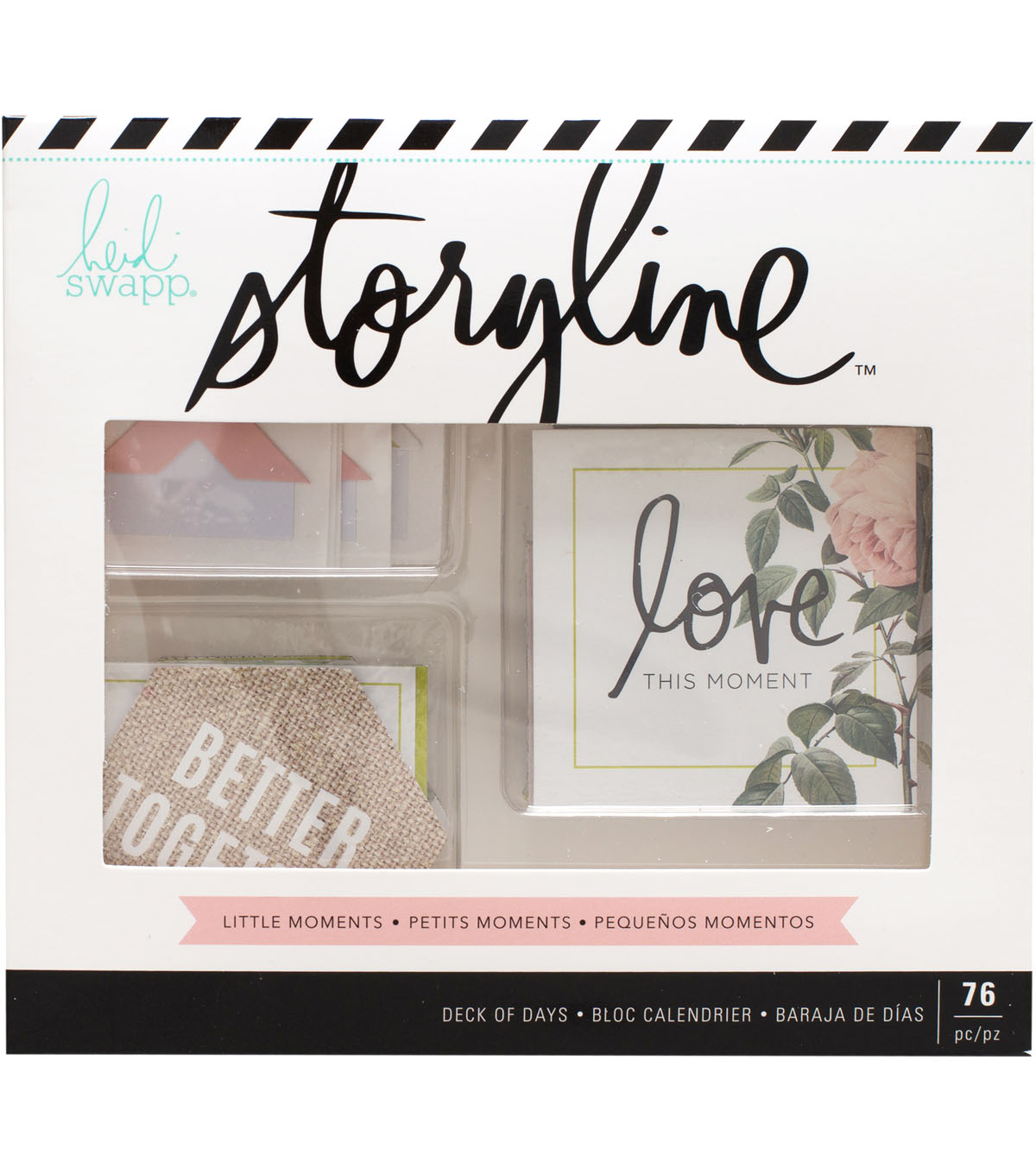 Heidi Swapp Storyline Deck of Days-Little Moments