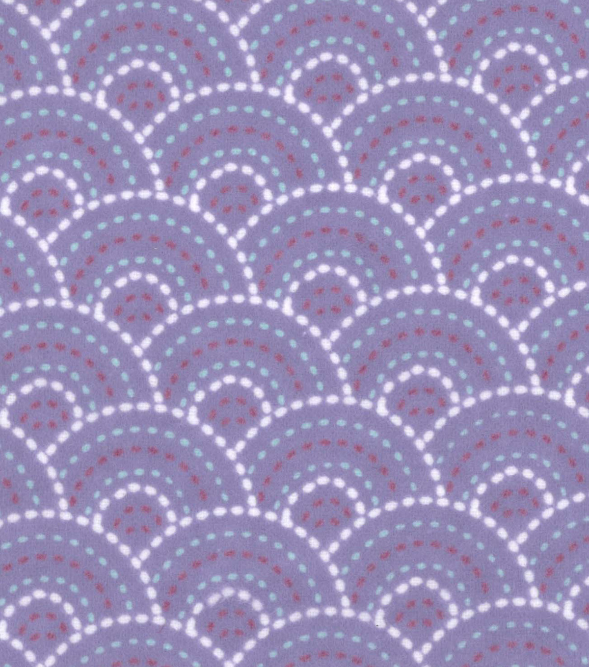 Snuggle Flannel Fabric -Gypsy Dotted Scales Purple