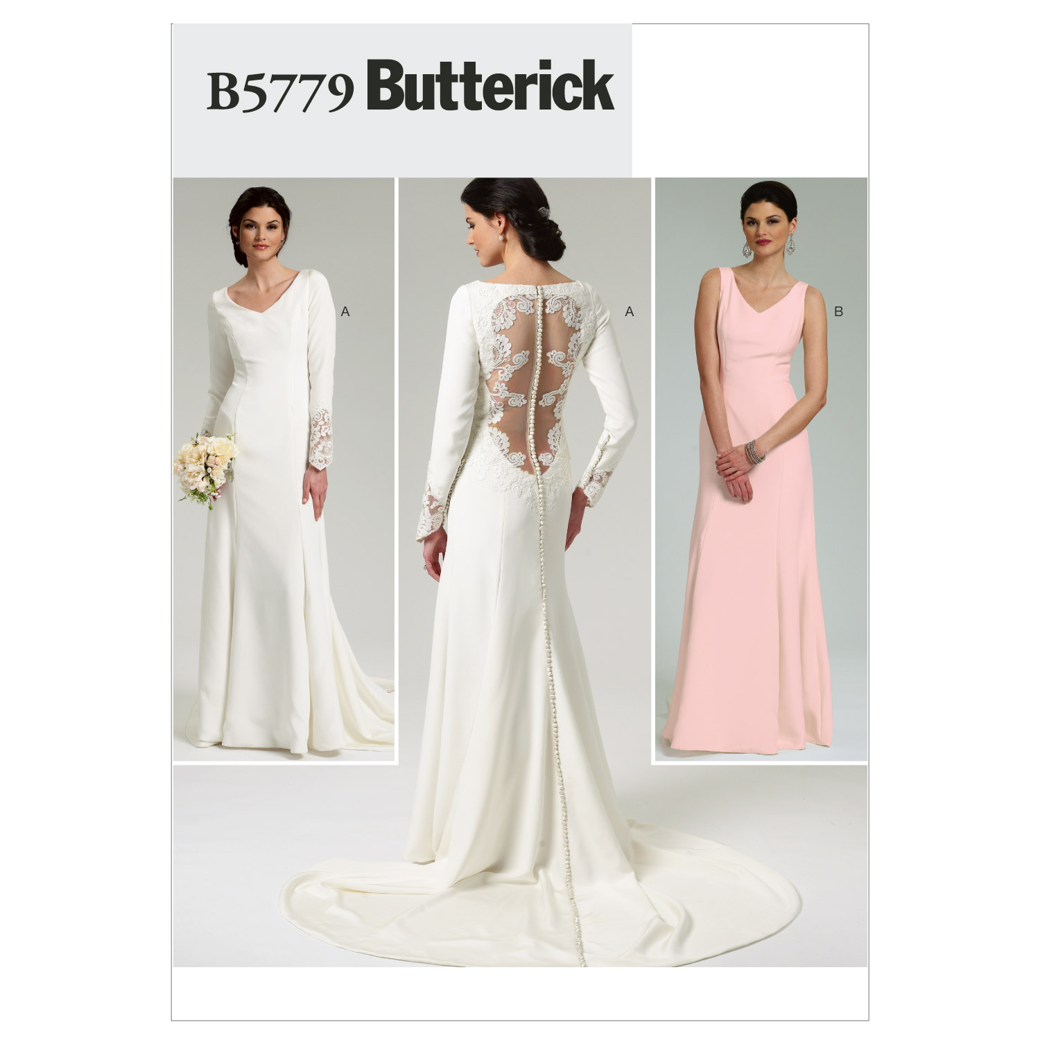 Butterick Misses Bridal-B5779