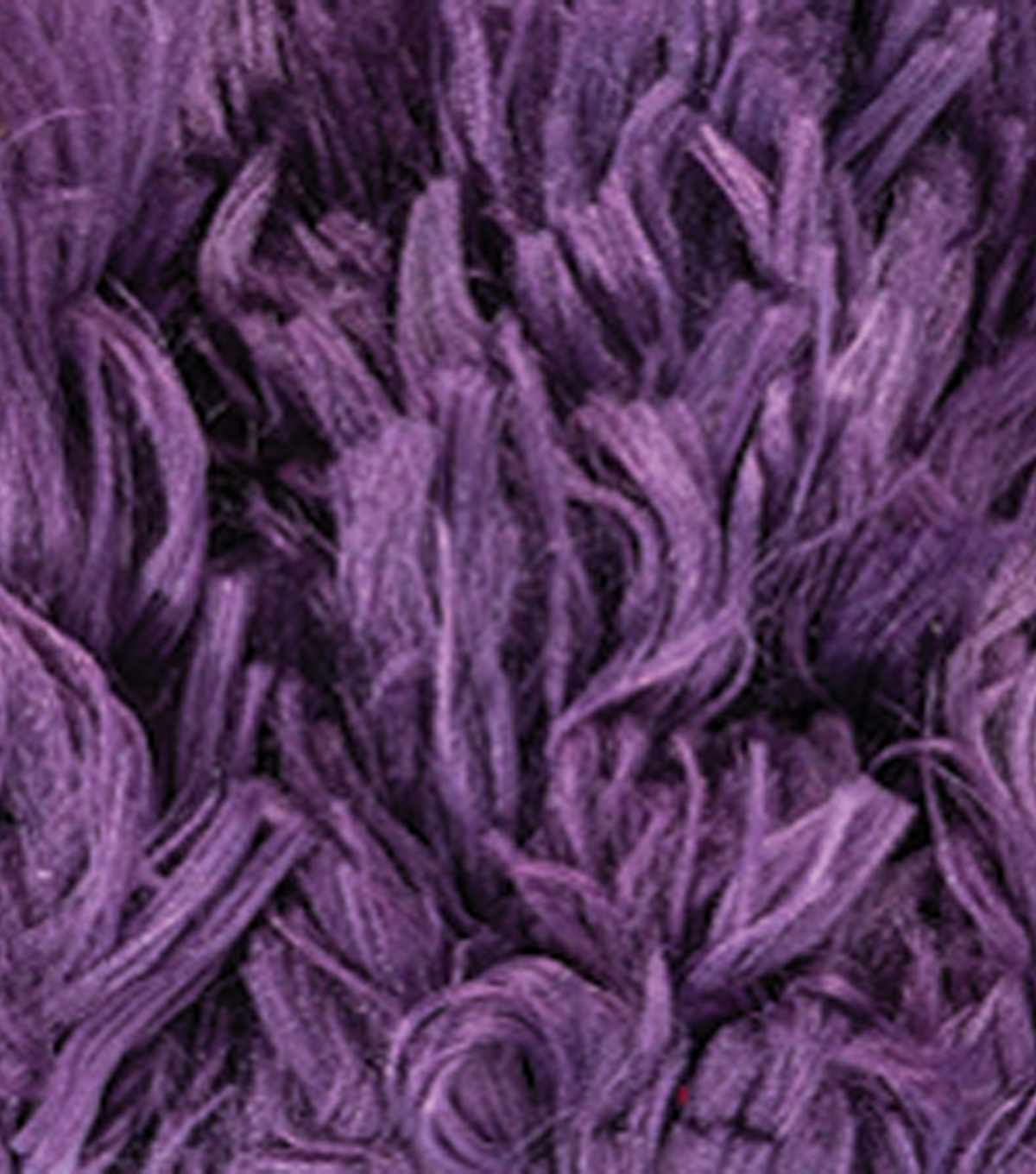 Red Heart Boutique Fur Yarn 11 yds, Eggplant