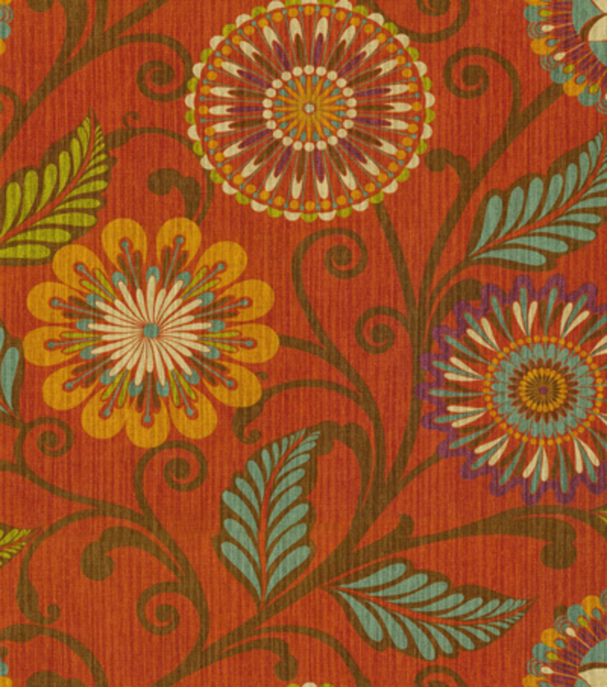Home Decor Print Fabric- HGTV HOME Urban Blosson Harvest