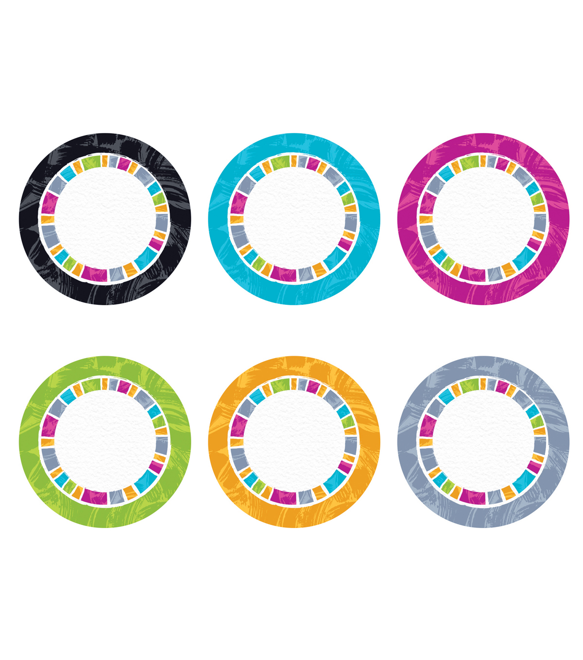 Trend Enterprises, Inc. Harmony Circles Accents, 36/Pack, 3 Packs