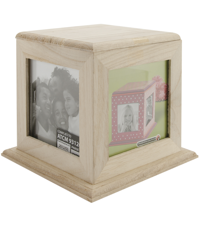 4-Way Wood Memory Frame 5-3/4\