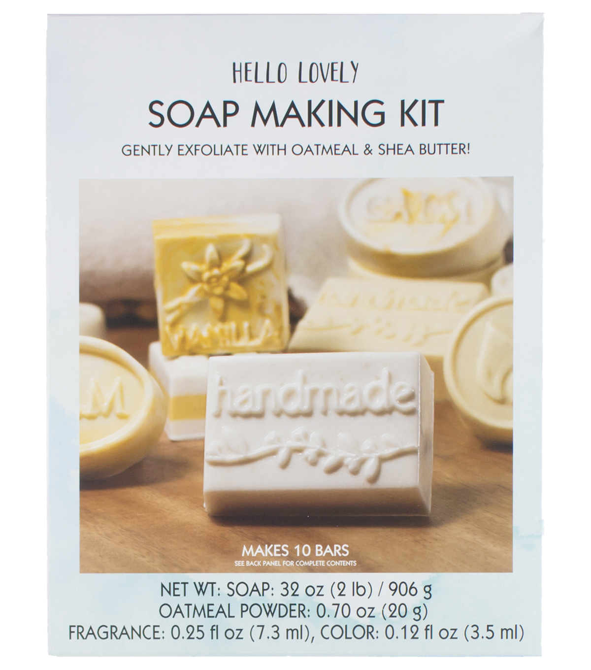 Hello Lovely Soap Making Kit-Oatmeal
