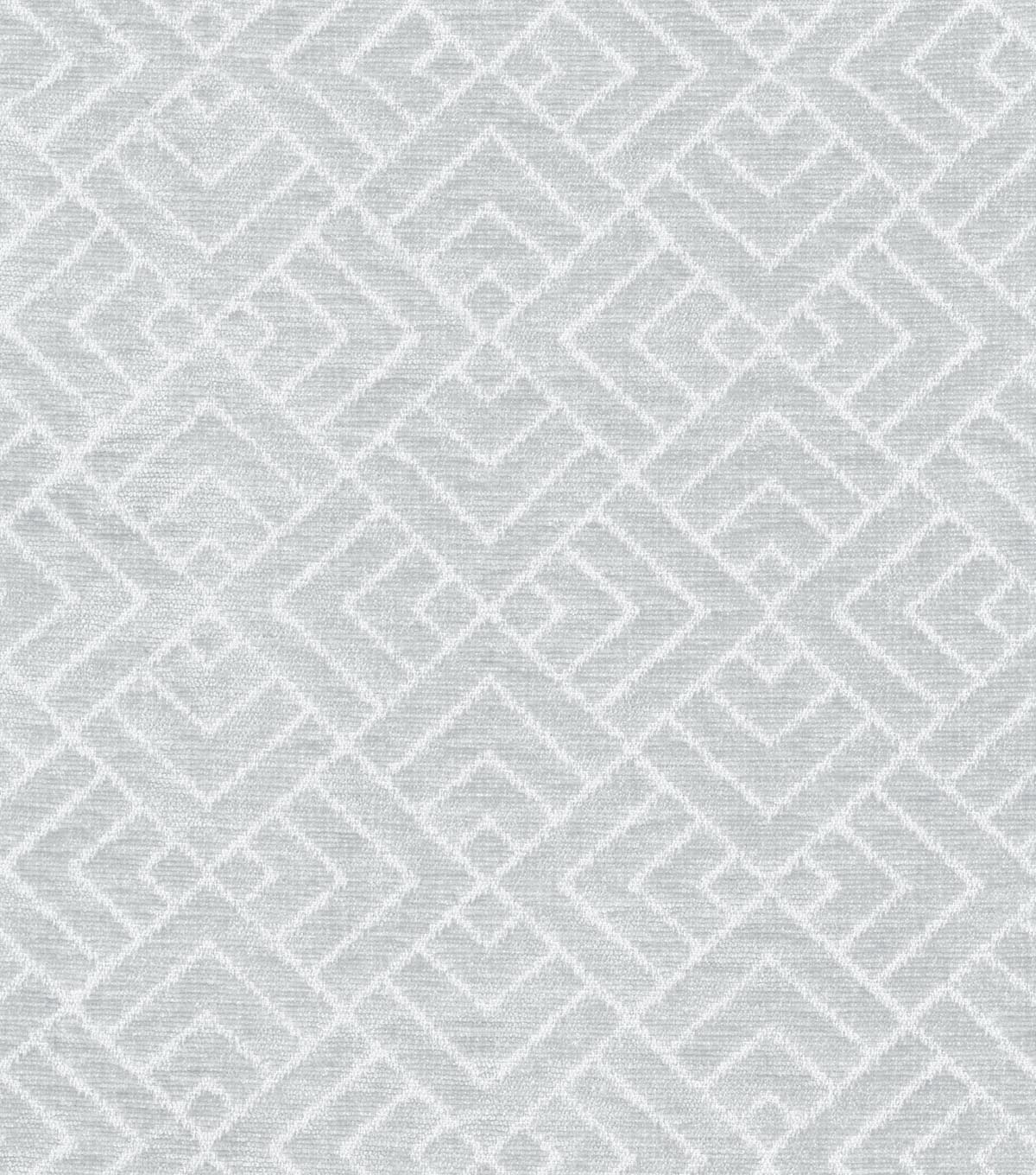 IMAN Home Upholstery Fabric 54\u0022-Tambal Lattice/Platinum