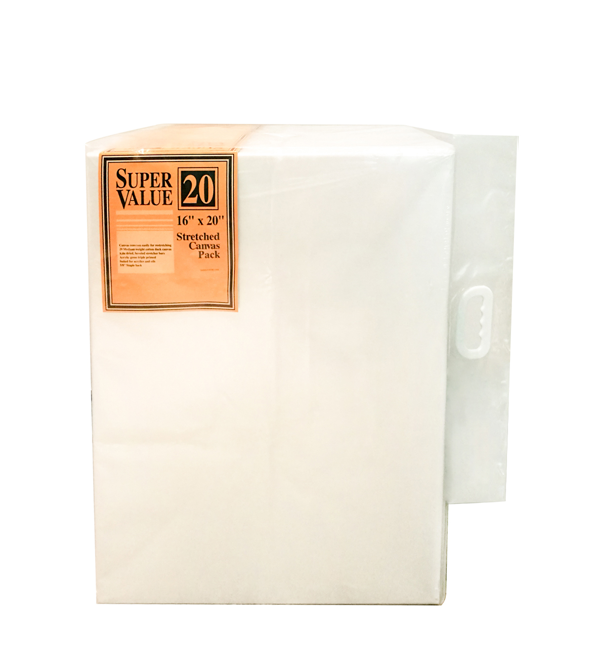 Stretched Canvas Super Value Pack 16\u0027\u0027x20\u0027\u0027