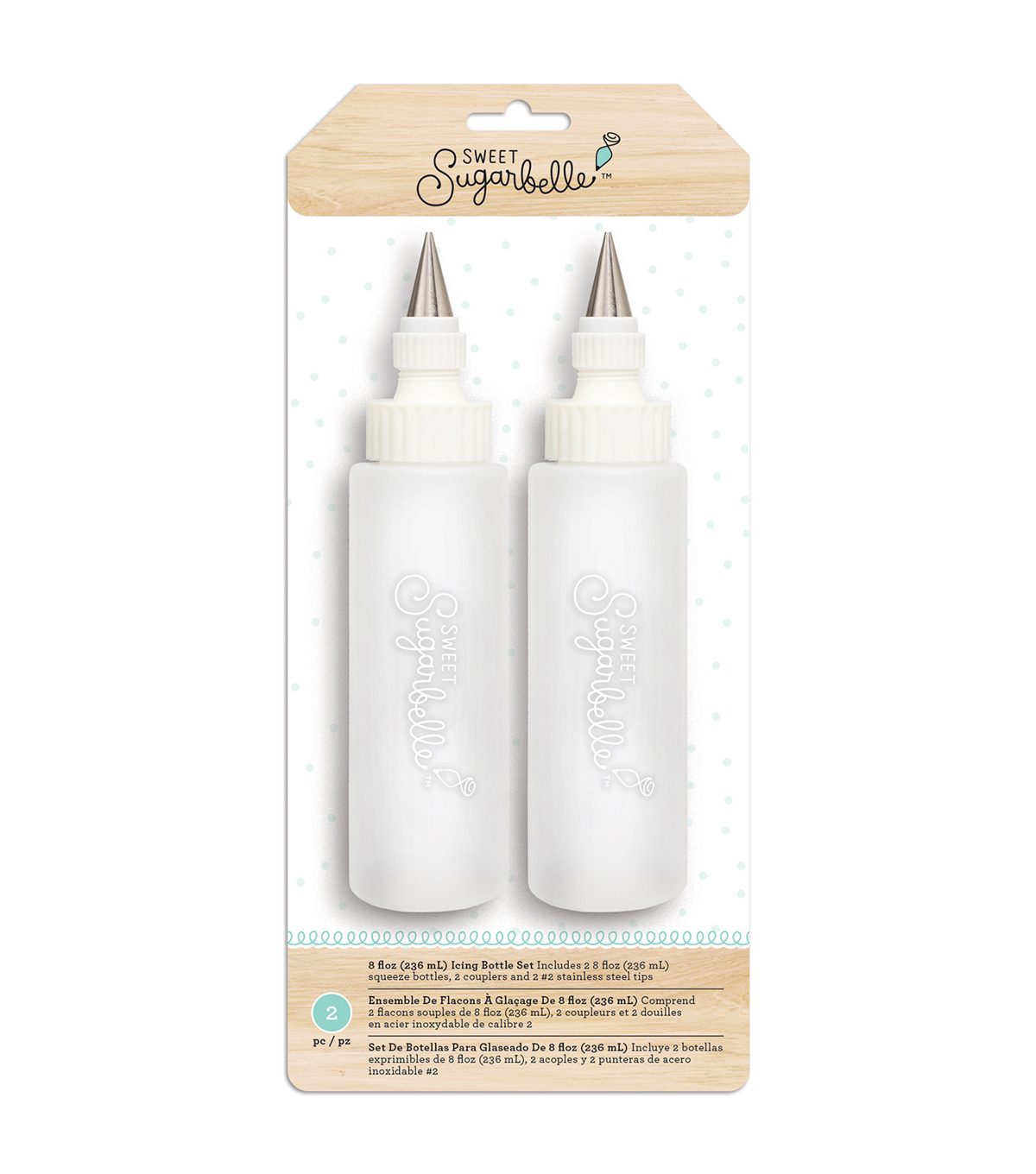Sweet Sugarbelle 2 pk 8 fl. oz. Icing Bottle Set