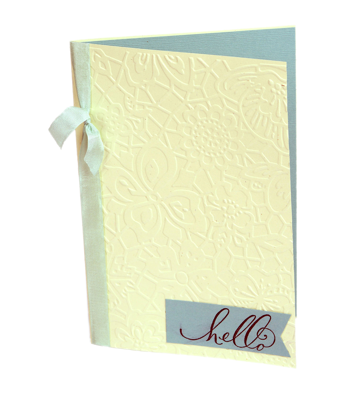 Sizzix Textured Impressions Plus Embossing Folder-Botanical Lace