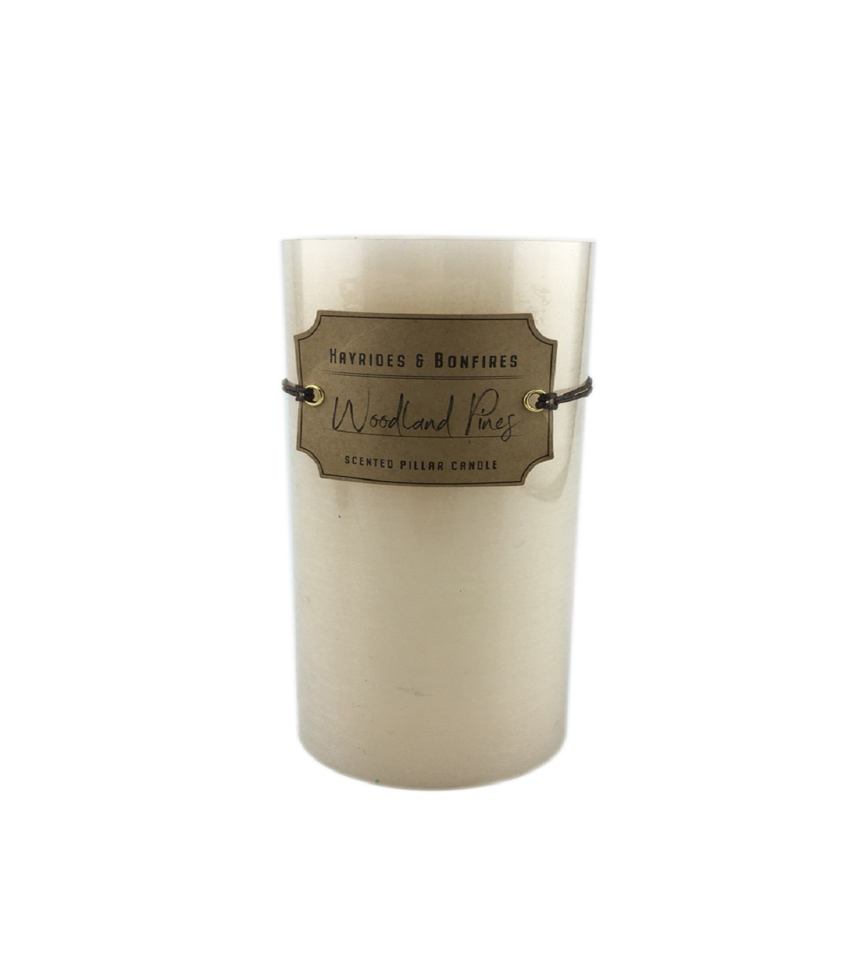 Simply Autumn 3\u0027\u0027x4\u0027\u0027 Woodland Pines Scented Pillar Candle
