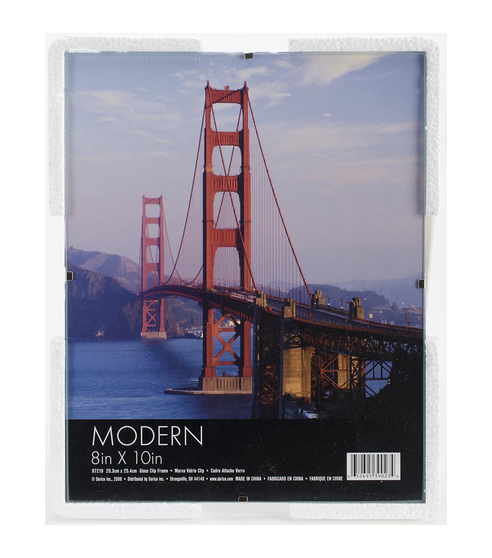 Darice Glass Clip Plastic Photo Frame 8x10 Joann