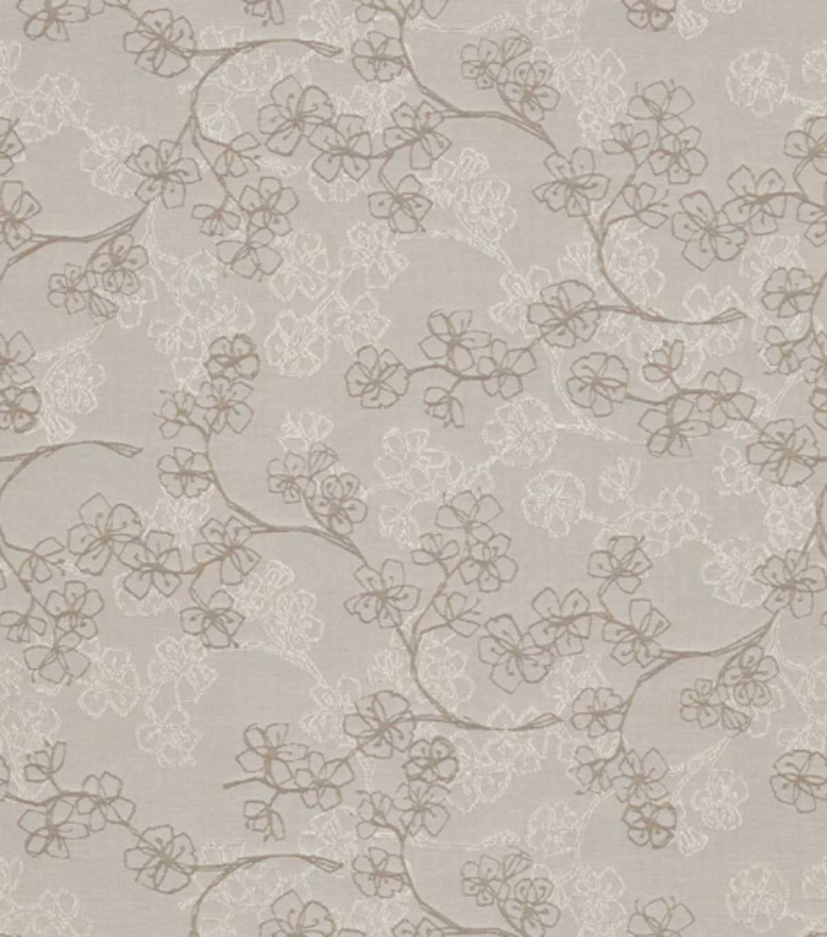 Home Decor 8\u0022x8\u0022 Fabric Swatch-Silken Petals Stone
