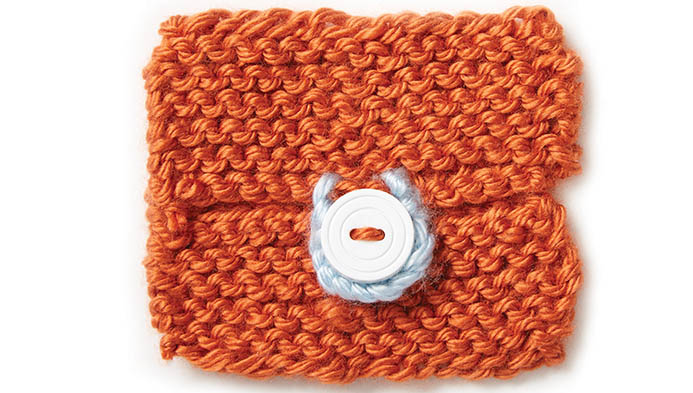 Knit Button Holes And Loops