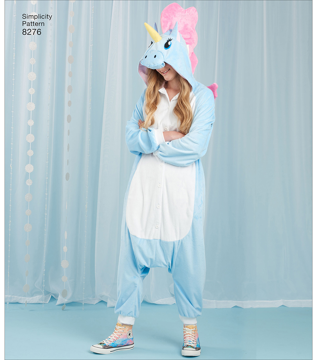 Simplicity Pattern 8276 Misses\u0027 Animal Jumpsuits-Size A (S-M-L)