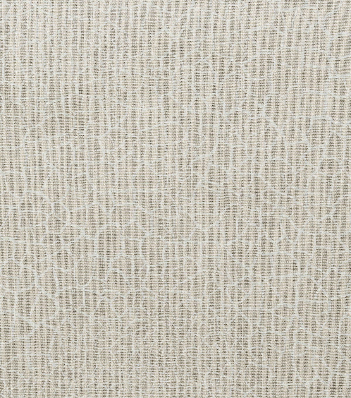 Christmas Cotton Fabric-Cream Crackle