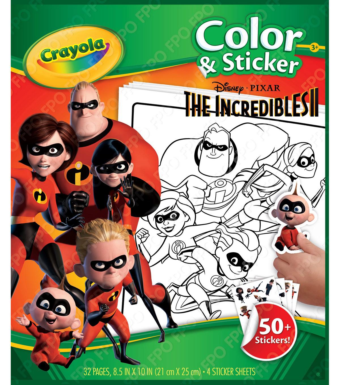 Crayola Color & Sticker Book 10\