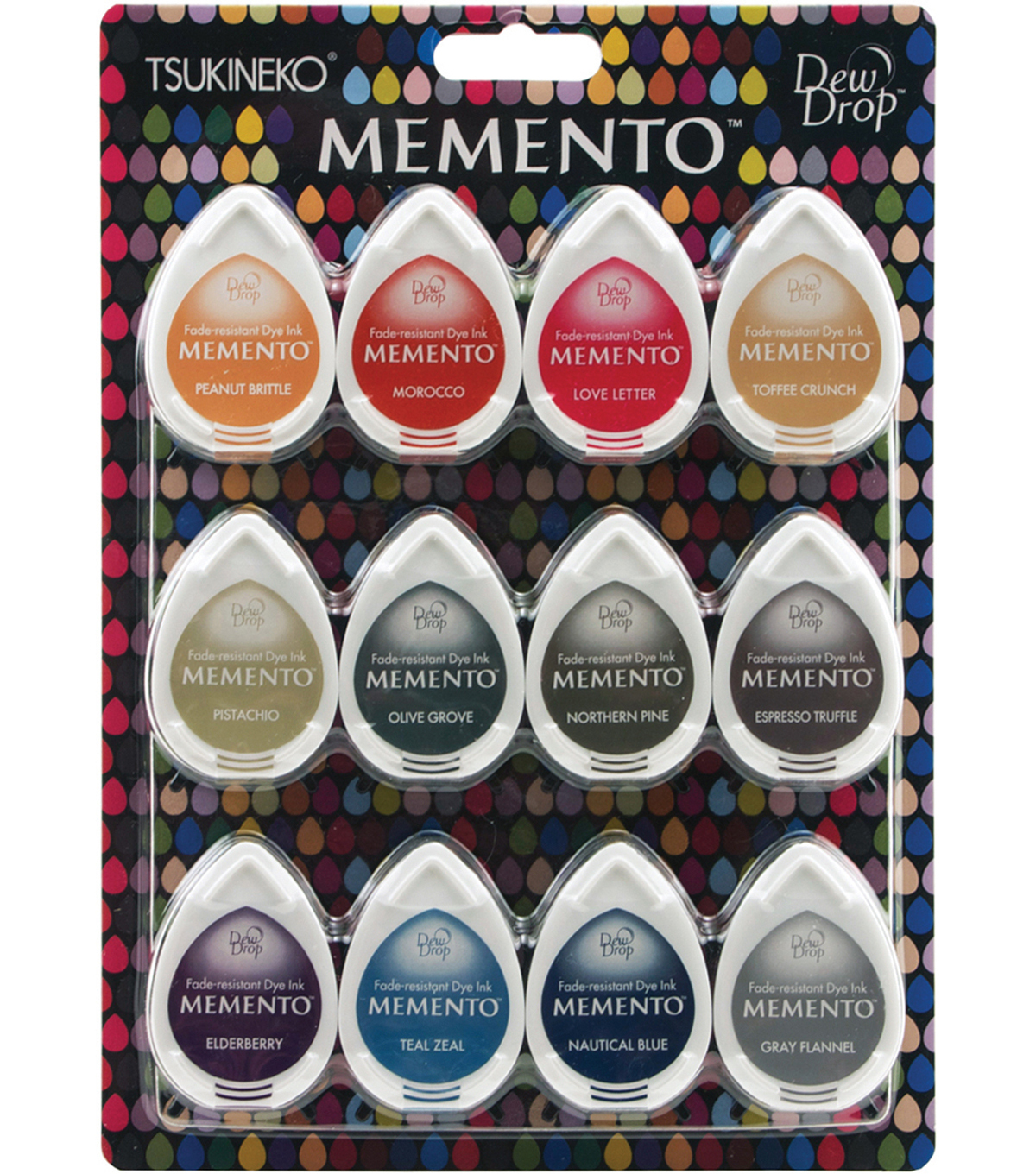 Memento Dew Drop 12/Pk Snow Cones-