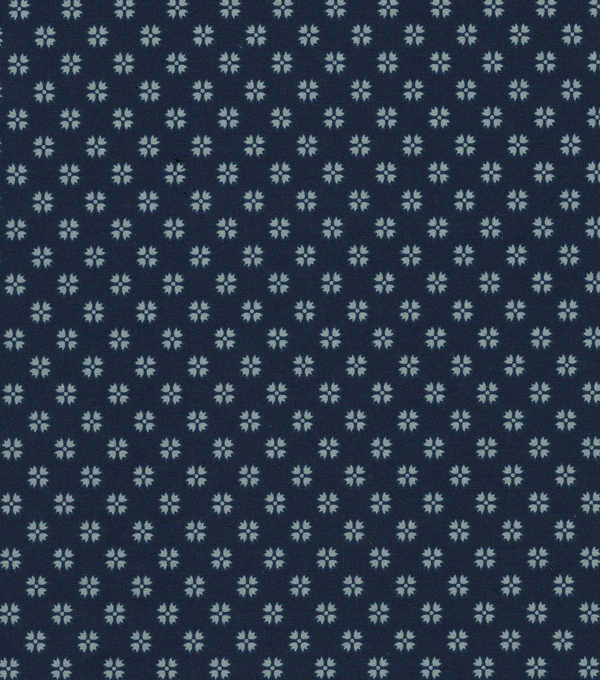 Quilter\u0027s Showcase Cotton Fabric 44\u0022-Navy Gray Ditsy Geometrics