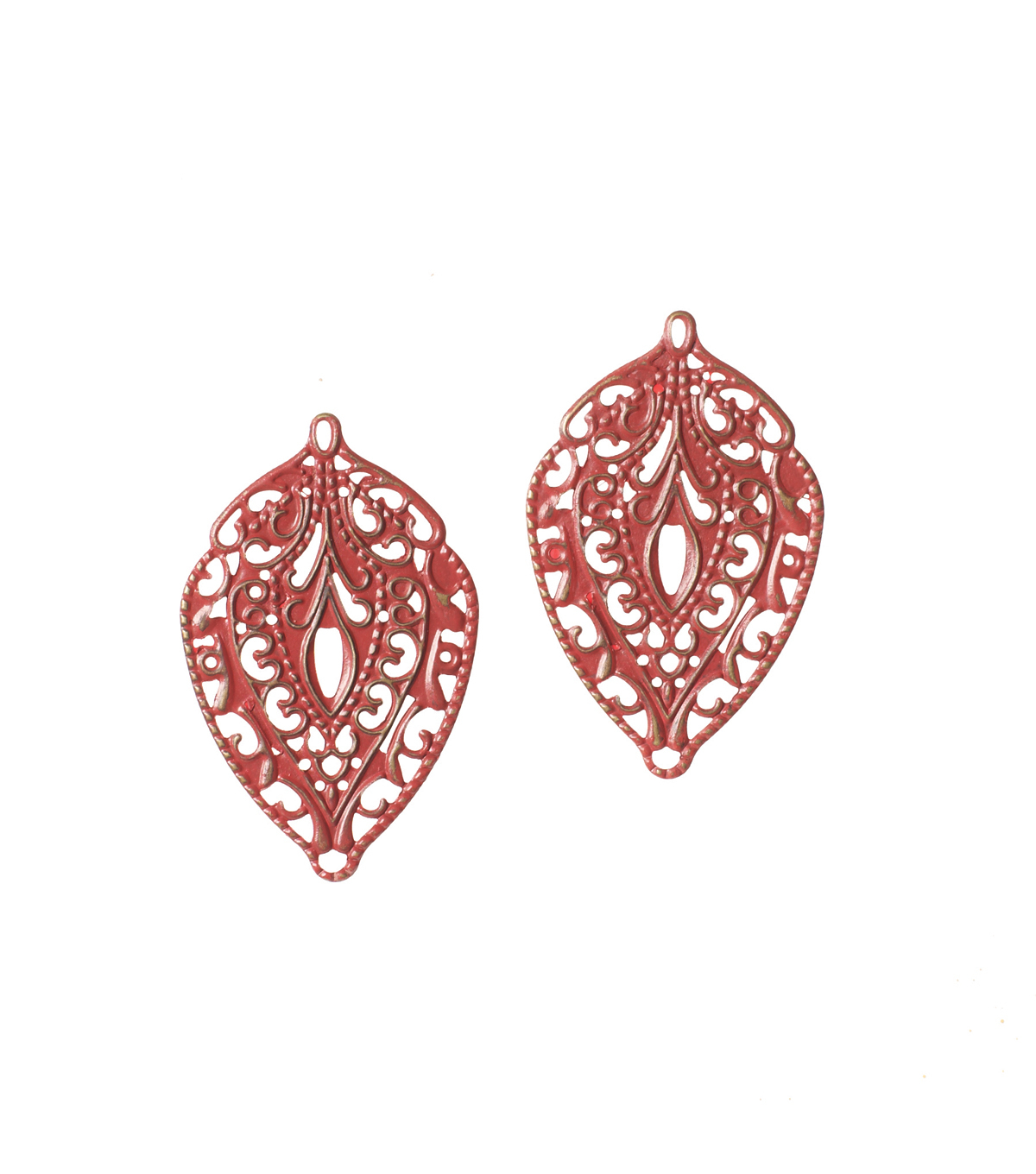 Ic Red Filigree Chrms