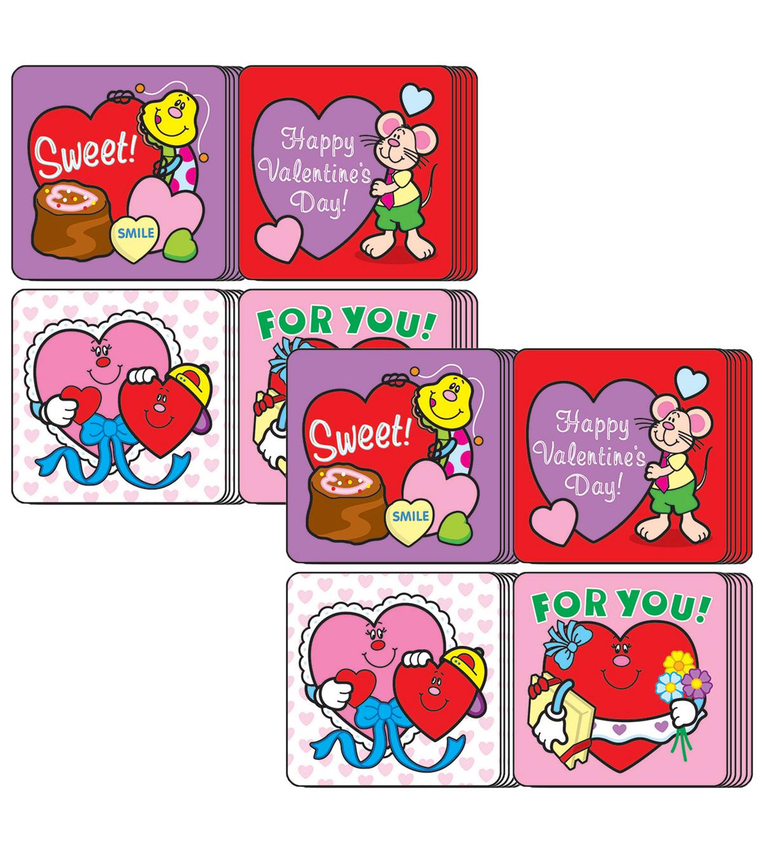 Carson Dellosa Valentine S Day Motivational Stickers 120 Per Pack