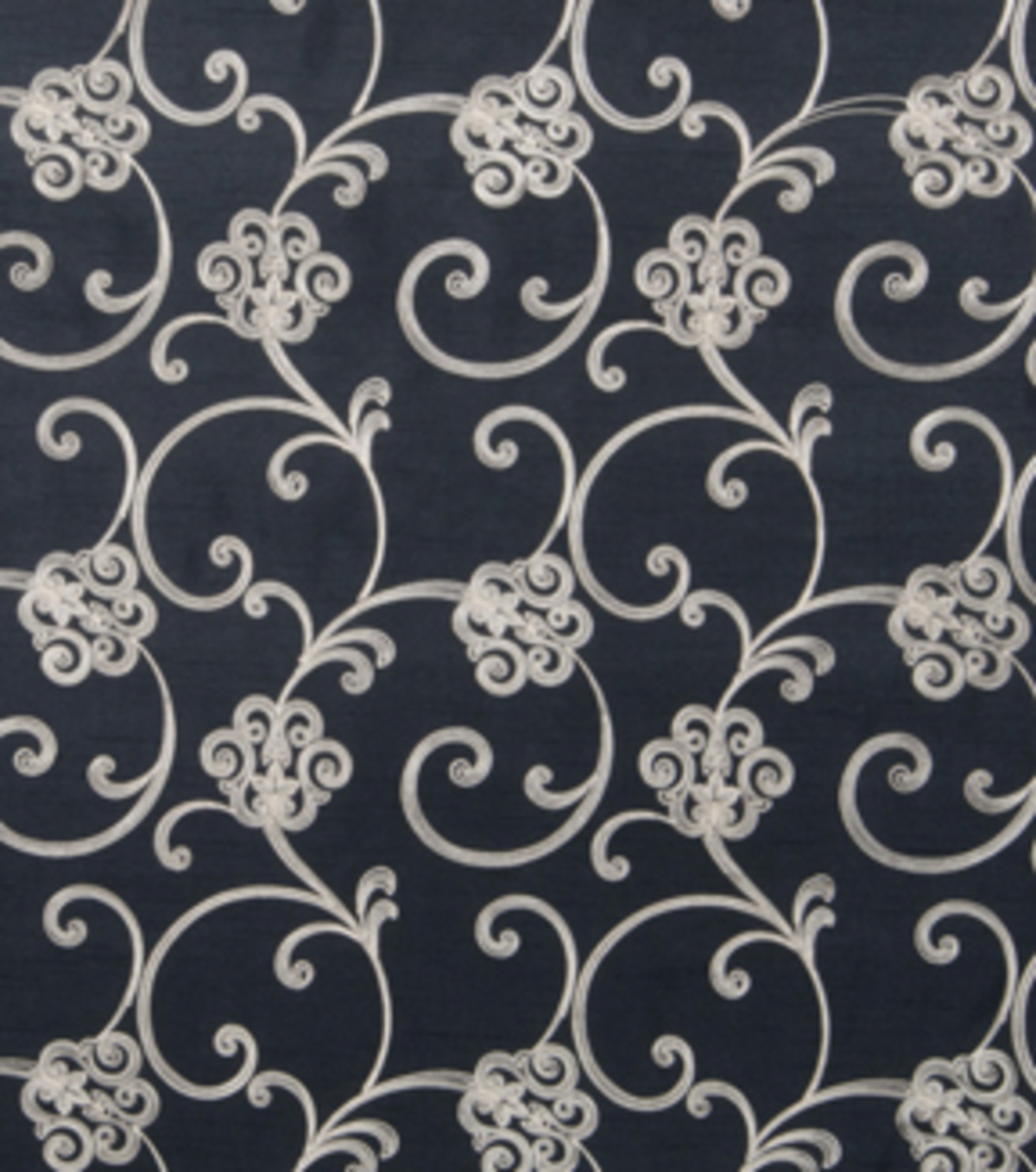 Home Decor 8\u0022x8\u0022 Fabric Swatch-Print Fabric Eaton Square Nolan Black