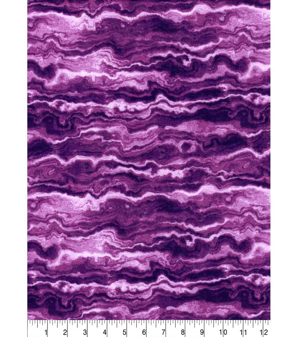 Luxe Flannel Fabric -Lilac Marble