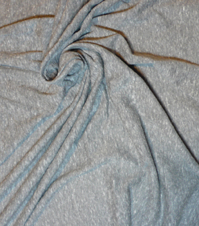 Jersey Knit Apparel Fabric-Heather Gray