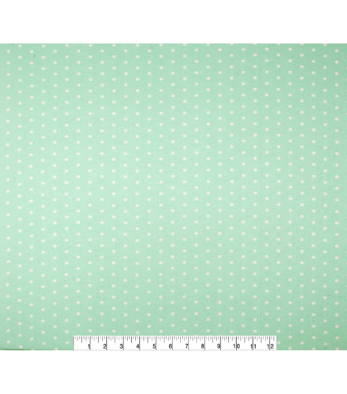 Super Snuggle Flannel Fabric-Dots On Aqua