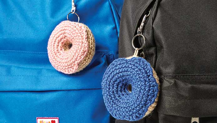 Kids Crochet Donut