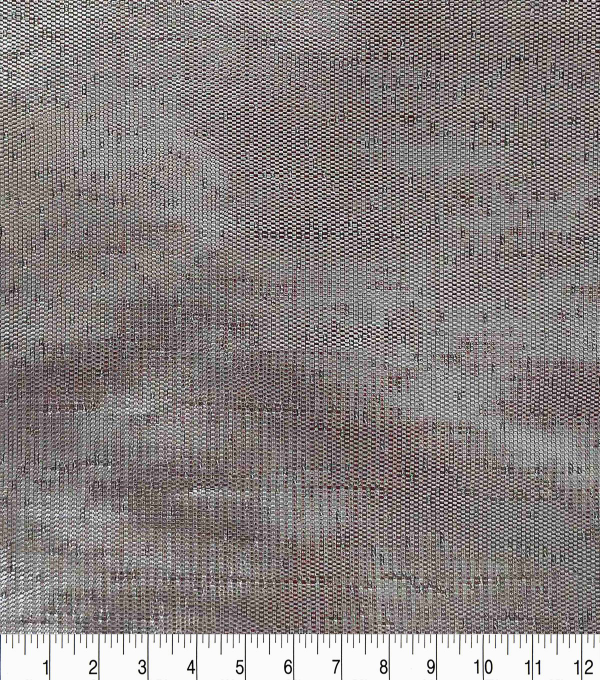 Holiday Decor Fabric-Solid Silver Metallic