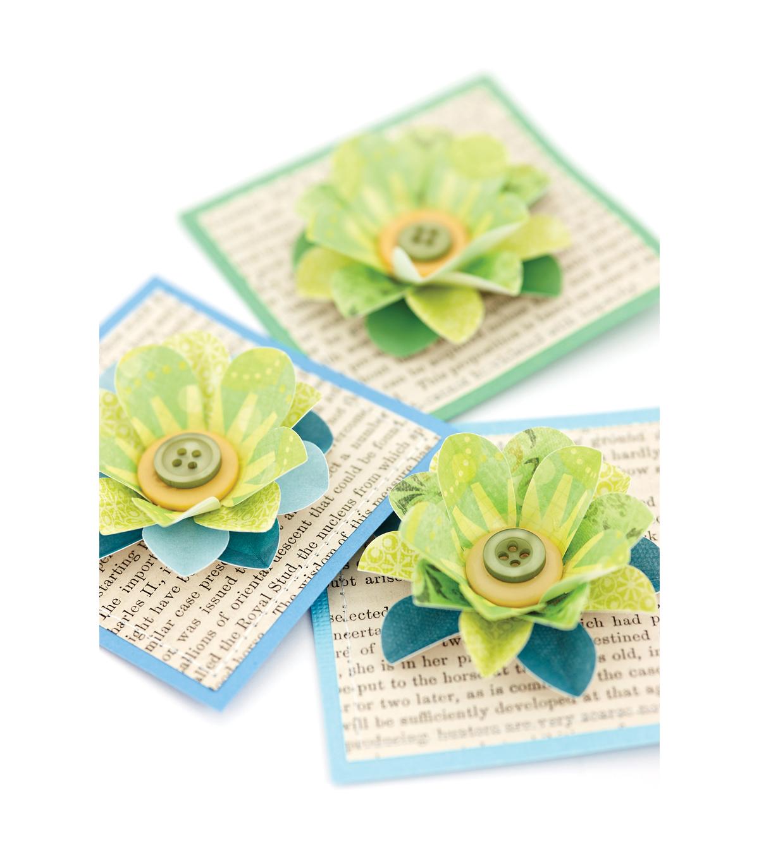 Ek Success Large Slim Paper Punch Retro Flower Joann