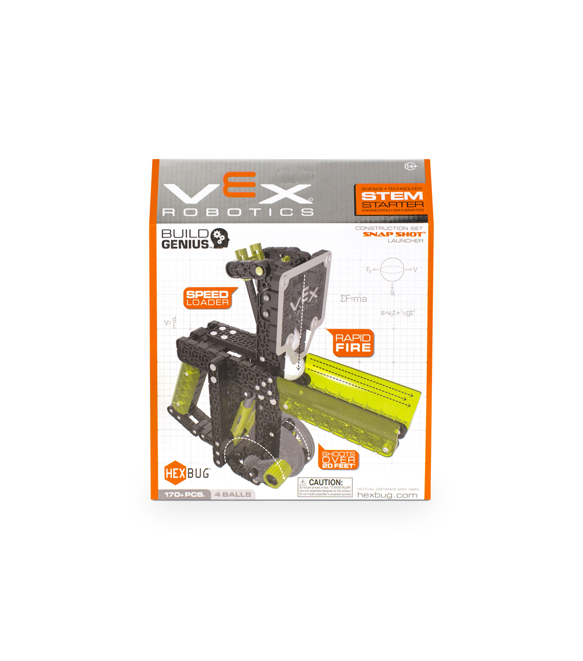 VEX Robotics Snapshot Ball Shooter