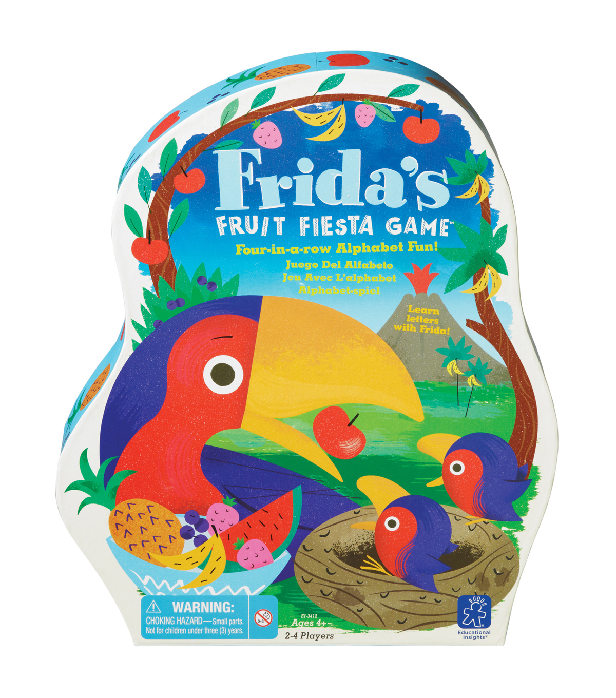 Educational Insights Frida\u0027s Fruit Fiesta Game