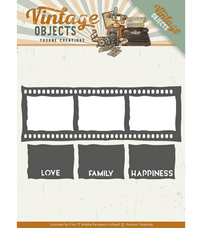 Find It Trading Yvonne Creations Vintage Objects Die-Film Strip