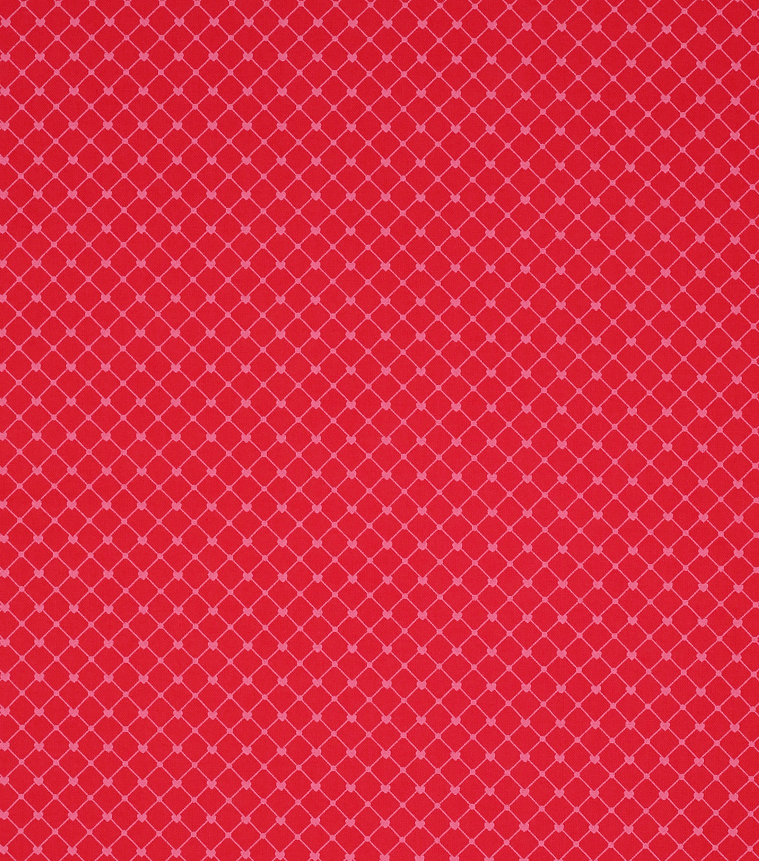 Valentine\u0027s Day Fabric -Red Heart Dots